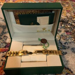 Rolex with box